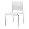 silla de visita moderna / apilable / tapizada / con reposabrazos