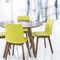 Mesa moderna / de madera / rectangular / ovalada 4240 TIMBER by Delphin Design BRUNE Sitzmöbel GmbH