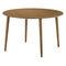 Mesa moderna / de madera / rectangular / redonda SALT 4250 by Uwe Sommerlade BRUNE Sitzmöbel GmbH
