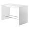 mesa alta moderna / de plástico / de HPL / rectangular