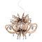 lámpara araña de diseño original / Goldflex® / Copperflex® / de Steelflex®