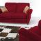 sofá clásico / de cuero / 2 plazas / con reposabrazos