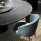 mesa moderna / de mármol / redonda
