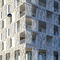 Revestimiento de fachada de hormigón / perforado / de panel FIBRE C : 3D Rieder Smart Elements GmbH
