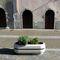 Jardinera de acero inoxidable / de mármol / de piedra natural / ovalada CRISTINA ALPHA | BETA BELLITALIA