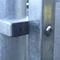 Barrera de protección / fija / de acero / para espacio público CLOTURE ACINOX GROUPE SAE - TENNIS D'AQUITAINE