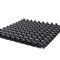 membrana de drenaje de polietileno de alta densidad PEHD / de almacenamiento de agua / para drenaje / para tejado vegetal