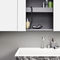 lavabo sobre encimera / rectangular / de Corian® / de mármol
