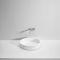 lavabo sobre encimera / rectangular / de mineral compuesto / de resina