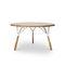 Base de mesa de metal lacado / de madera / moderna / para uso residencial STAMMTISCH 2 by Alfredo Häberli Quodes
