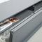 aparador moderno / de aluminio / de MDF lacado / en chapas