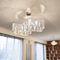 Lámpara suspendida / moderna / de acero inoxidable pulido / LED CLOUD N°27C Thierry Vidé Design