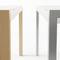 mesa moderna / de vidrio templado / rectangular / extensible