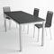 mesa moderna / de material laminado / rectangular / extensible