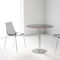 mesa moderna / de metal / redonda / 100 % reciclable