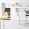 silla de bar moderna / tapizada / ajustable / de tejido