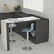 silla de bar moderna / ajustable / con base central / de poliuretano