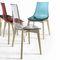 silla moderna / de plástico