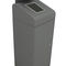 Cubo de basura público / de acero galvanizado / con cenicero integrado / moderno BERLIN URBAN CERVIC ENVIRONMENT