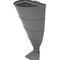 Cubo de basura público / empotrable / de acero galvanizado / moderno VIENNA  CERVIC ENVIRONMENT