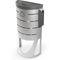 Cubo de basura público / de acero galvanizado / moderno / de reciclaje LISBON RECYCLING CERVIC ENVIRONMENT
