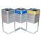 Cubo de basura público / de acero / de reciclaje / moderno ATHENS RECYCLING CERVIC ENVIRONMENT