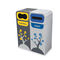 Cubo de basura público / de acero galvanizado / moderno / de reciclaje BRUSSELS CERVIC ENVIRONMENT