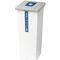Cubo de basura público / de metal / de reciclaje / moderno OPORTO CERVIC ENVIRONMENT