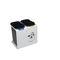 Cubo de basura público / de metal / de reciclaje / moderno LUNA CERVIC ENVIRONMENT