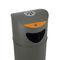 Cubo de basura público / de acero galvanizado / con cenicero integrado / de reciclaje OSLO RECYCLING CERVIC ENVIRONMENT
