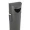 Cubo de basura público / de acero inoxidable / de acero galvanizado / con cenicero integrado OSLO URBAN CERVIC ENVIRONMENT