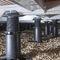 pedestal para suelo técnico de exterior / para terraza / ajustable / para tarima de terraza