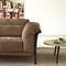 sofá moderno / de tejido / de aluminio fundido / de Pascal Mourgue