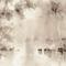 Papeles pintados clásicos / de algodón / con motivos de la naturaleza / pintados a mano LETHARGY BuenaVentura