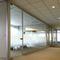tabique fijo / de aluminio / acristalado / para oficina