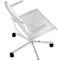 silla de conferencia tapizada / con reposabrazos / con ruedas / giratoria
