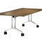 Mesa para la enseñanza moderna / de aluminio / rectangular / con ruedas TIMETABLE SHIFT by Andreas Störiko Wilkhahn