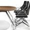 Silla de oficina moderna / con ruedas / con reposabrazos / con patas en forma de estrella GRAPH by Jehs + Laub Wilkhahn