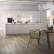 cocina moderna / de madera / de FENIX NTM® / con isla