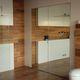 puerta de interior / abatible / de aluminio / para edificio público