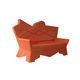 sofá de diseño original / de exterior / de plástico / de Alessandro Mendini