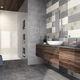 baldosa de baño / de pared / de loza / rectangular
