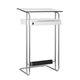 escritorio alto / de acero / moderno / con armarios integrados