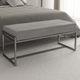 banco para pie de cama moderno