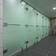 cabina de ducha de fibra acrílica / de acero inoxidable / para baño público / para centro de spa