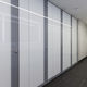 cabina sanitaria para baño público / laminada / de vidrio / MDF