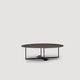 mesa de centro moderna / de metal / redonda / de interior