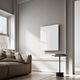 radiador de infrarrojos / cara de vidrio templado / moderno / rectangular