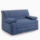 sofá cama / moderno / de tejido / contract