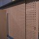 panel acústico de aglomerado / para decoración interior / de cemento / perforado